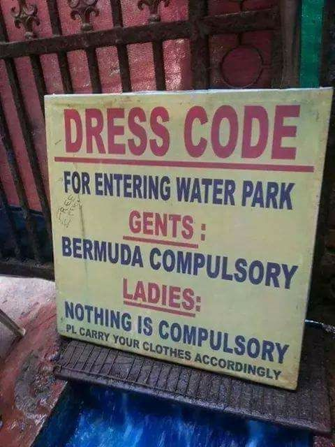 No Dress(code) for women