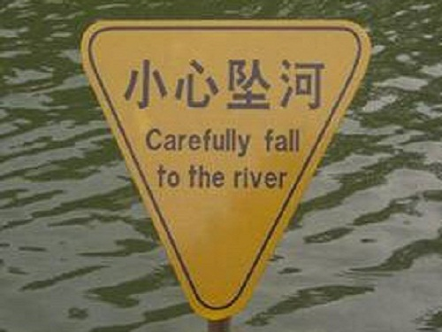 fall to river