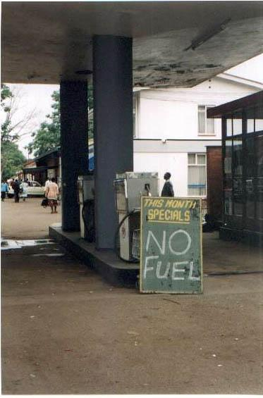 This month's special 'No Fuel'
