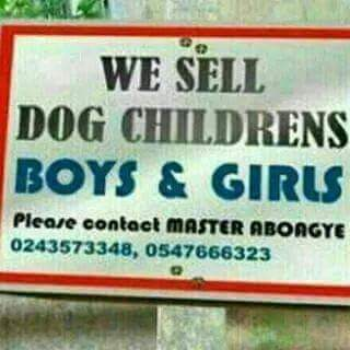 selling boys and girls